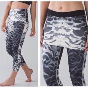Lululemon Wunder Under Pant Dance Skirt Legging NW